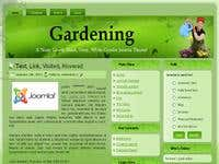 Gardening Joomla Theme