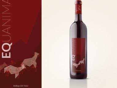 Equanima, argentinian wine label.