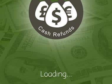 Design an App Mockup for Cash Refunds