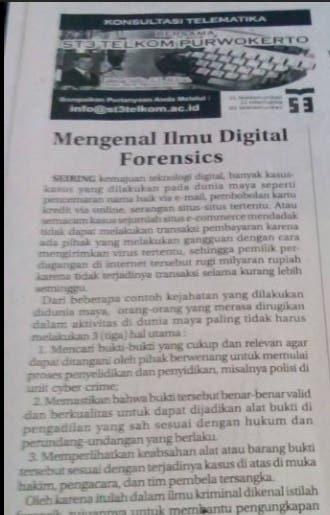 Mengenal Ilmu Digital Forensics