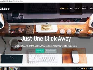 HTML CSS JAVASCRIPT Website