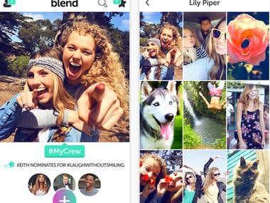 Blend-Photo & social app