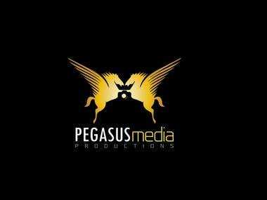 Pegasus Media Productions Logo