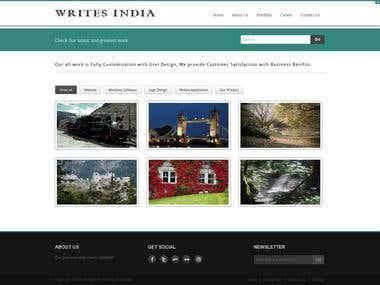 Writes India