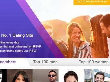 dating portal in java