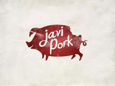 Javi Pork Logo