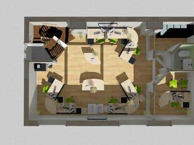 Small Office open space