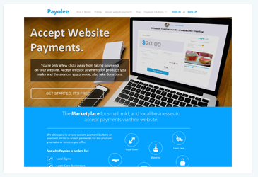 Payolee website all done in php html css, ajax,