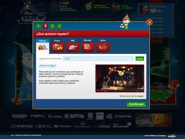Website of christmas