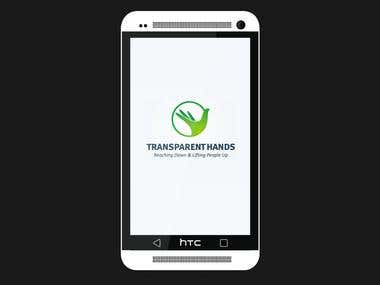 Transparent Hand Android App