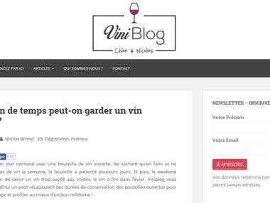 Wine Blog - www.viniblog.com