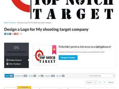 Design a Logo for My shooting target company