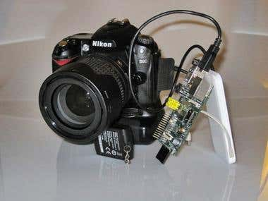 Raspberry PI DSLR Capture & Samba Share