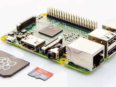 Raspberry pi Kiosk Console