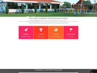 School Website - PHP