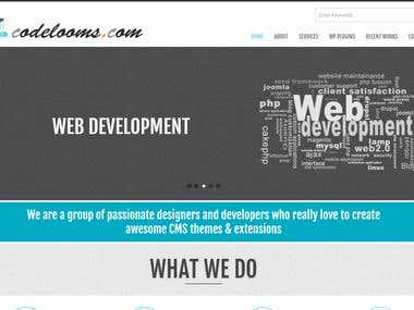Codelooms Corporate Site