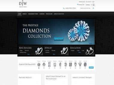 Diamonds Shop