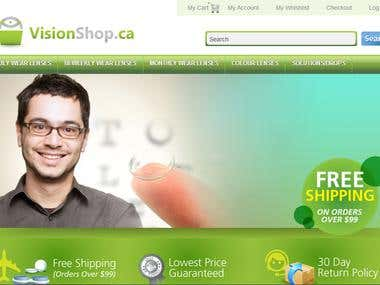 Vision Shop (Data Entry&Customer Service)