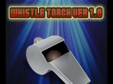 whistel torch - Android App