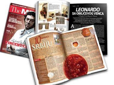 Print Magazine Design