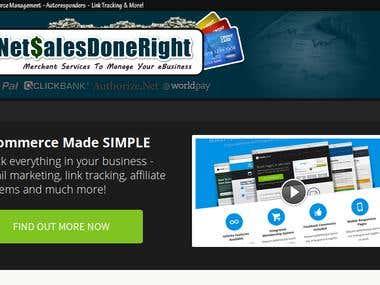 Wordpress complete design, theme customization Graphics etc.