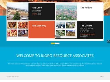 Website for Ikoro Resource Associates
