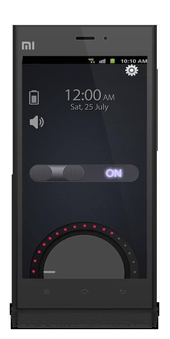 Mini torch app ui