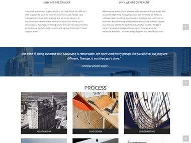 Website Design and development for www.kazsource.com