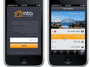 MTA-client - Sencha Web App