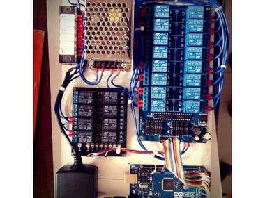 Arduino Smart Relay System for Lighting Animation Project