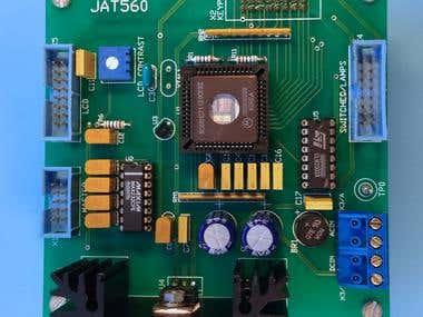 Keypad/LCD User Interface