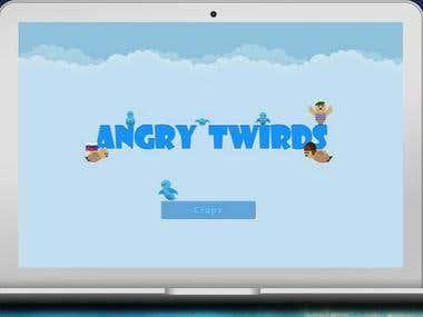 """игра \""""ANGRY TWIRDS\"""""""