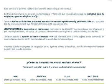 Diseño pagina web o blog
