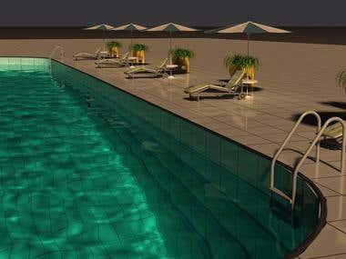 swimmig pool