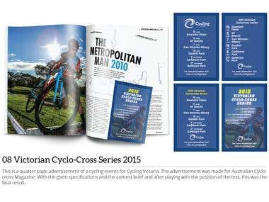 Victorian Cyclo-Cross Series 2015