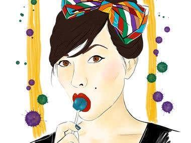 Keiko Lynn portrait