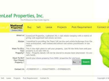 Green leaf Properties