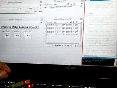 Power Status Logger using Arduino & MegunoLink software