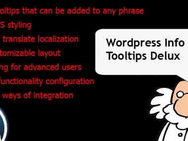 Wordpress Info Tooltips Pro