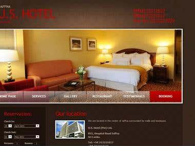 U.S.Hotel Jaffna Hotel Management System (Web based)