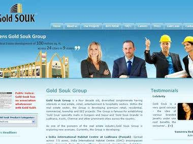 Website for Real Estate Investment Company