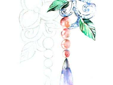 Fashion and Jewelry  illustration