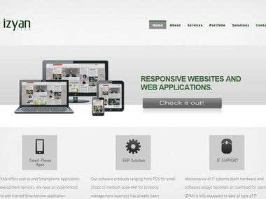 IT COMPANY WEBSITE RESPONSIVE