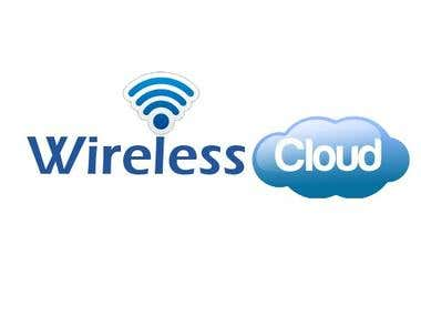 Logo for wireless cloud