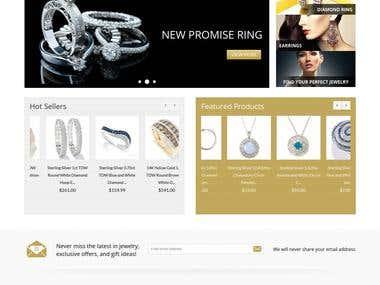 Online Jewelery Shop