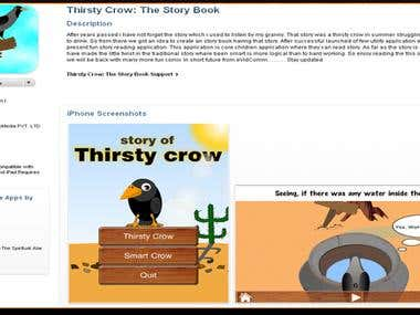 Thirsty Crow the Story Book