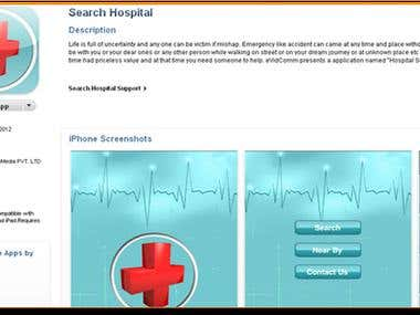 Hospital Search