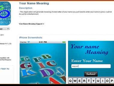 Your Name Meaning