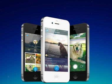 Bets Photo Sharing Mobile Application