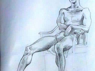 Live model drawings